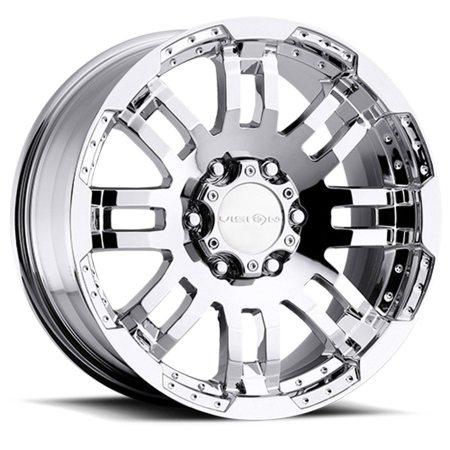 Vision Warrior 375 Chrome Wheels