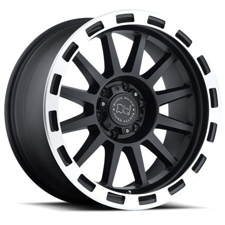 Black Rhino Wheels Revolution Black Machine Lip