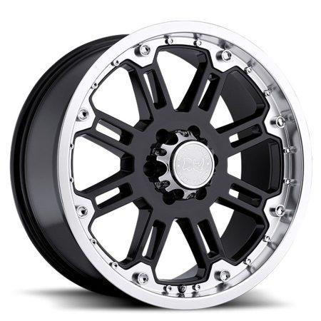 Black Rhino Wheels Rockwell Black Machine Lip