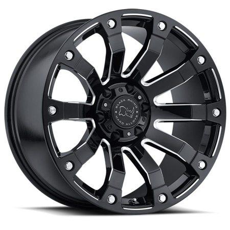 Black Rhino Wheel Selkirk Gloss Black Milled