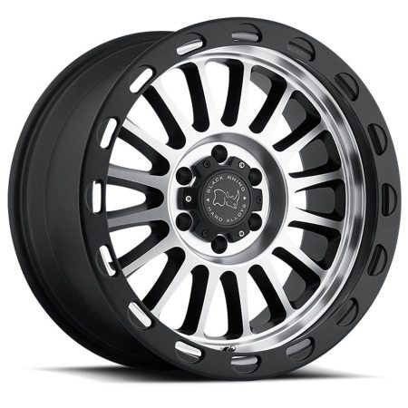 Black Rhino Wheels Taupo Black Machine Face