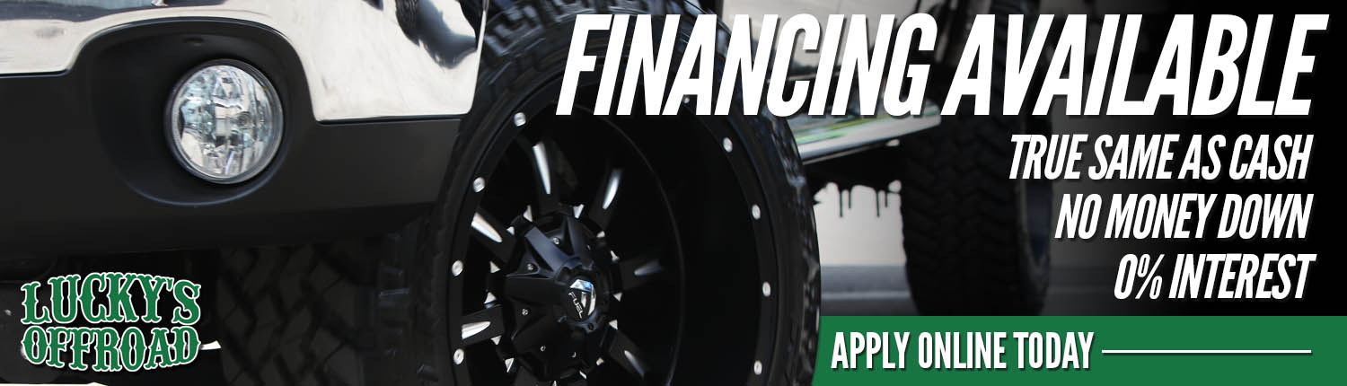 Truck Accessories Financing Slider