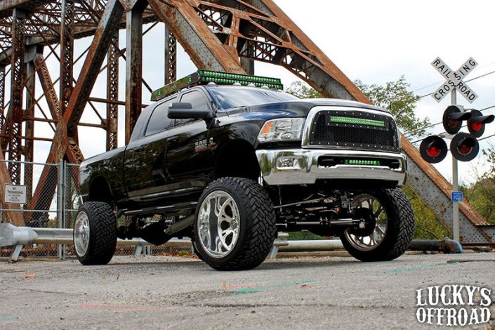 Mega Mayhem Lifted Dodge Ram 2500