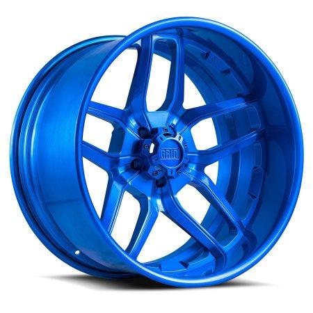 Grid Offroad GF2 Brushed Blue Wheel