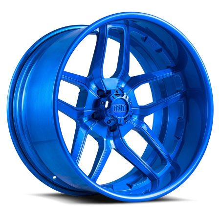 Grid Offroad GF2 Brushed Blue Wheel