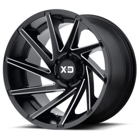 XD Series XD834 Black Wheels
