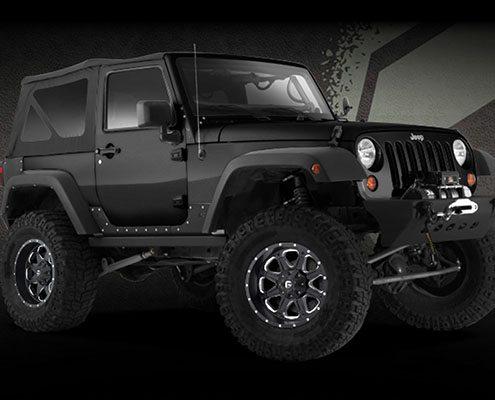 "Jeep Fuel Boost 20"" Wheels"
