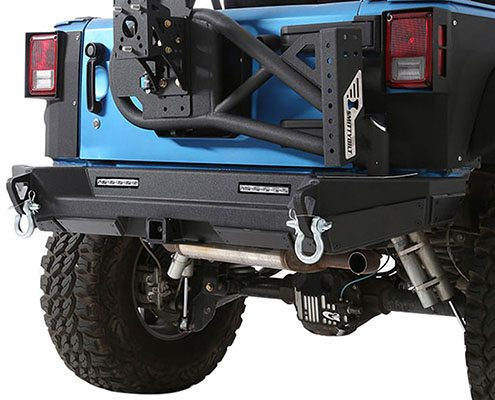 Smittybilt XRC Rear Bumper Tire Carrier