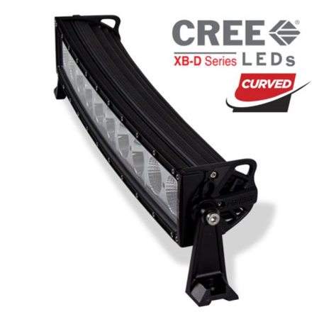 Heise 22-Inch Single Row Curved Light Bar