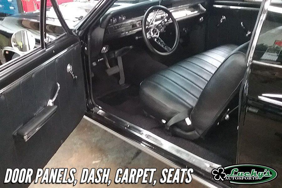 Custom Leather Seats Auto Interiors Luckys Autosports