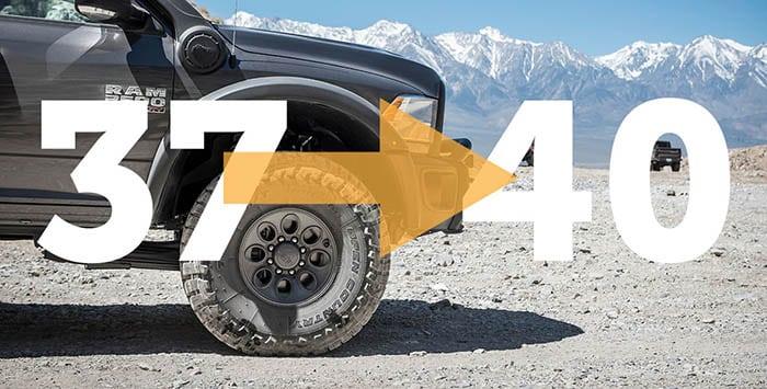 Dodge Ram 37 To 40 Conversion Kit