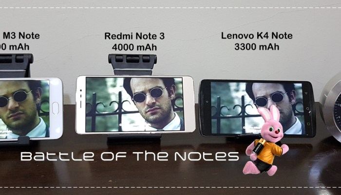 Battles of the Notes
