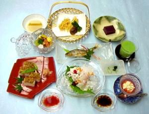 京都三栄の鱧づくしコース