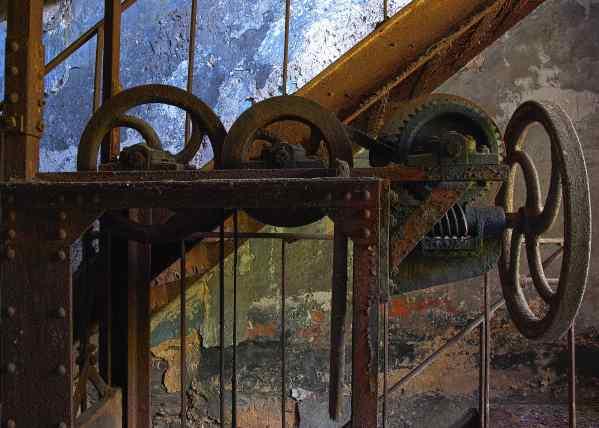 The abbandoned Val Saint Lambert (VSL) Crystal Factory in Belgium