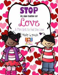 Valentine's Day Mini Unit | Stop in the Name of Love | Lucky to Be in First