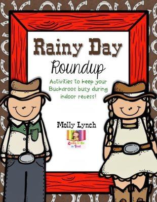 Rainy Day Ideas & Activities for Indoor Recess!