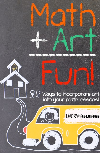 Math + Art = Fun | Ways to Incorporate Art into Your Math Lessons!