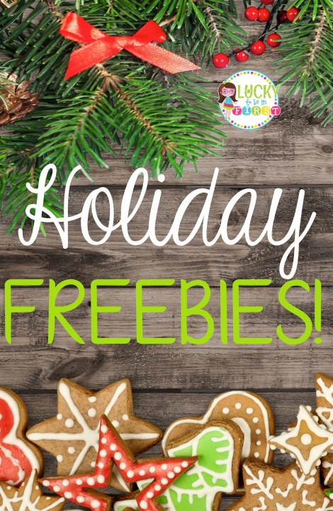 Snag a BUNCH of Holiday FREEBIES | Lucky to Be in First
