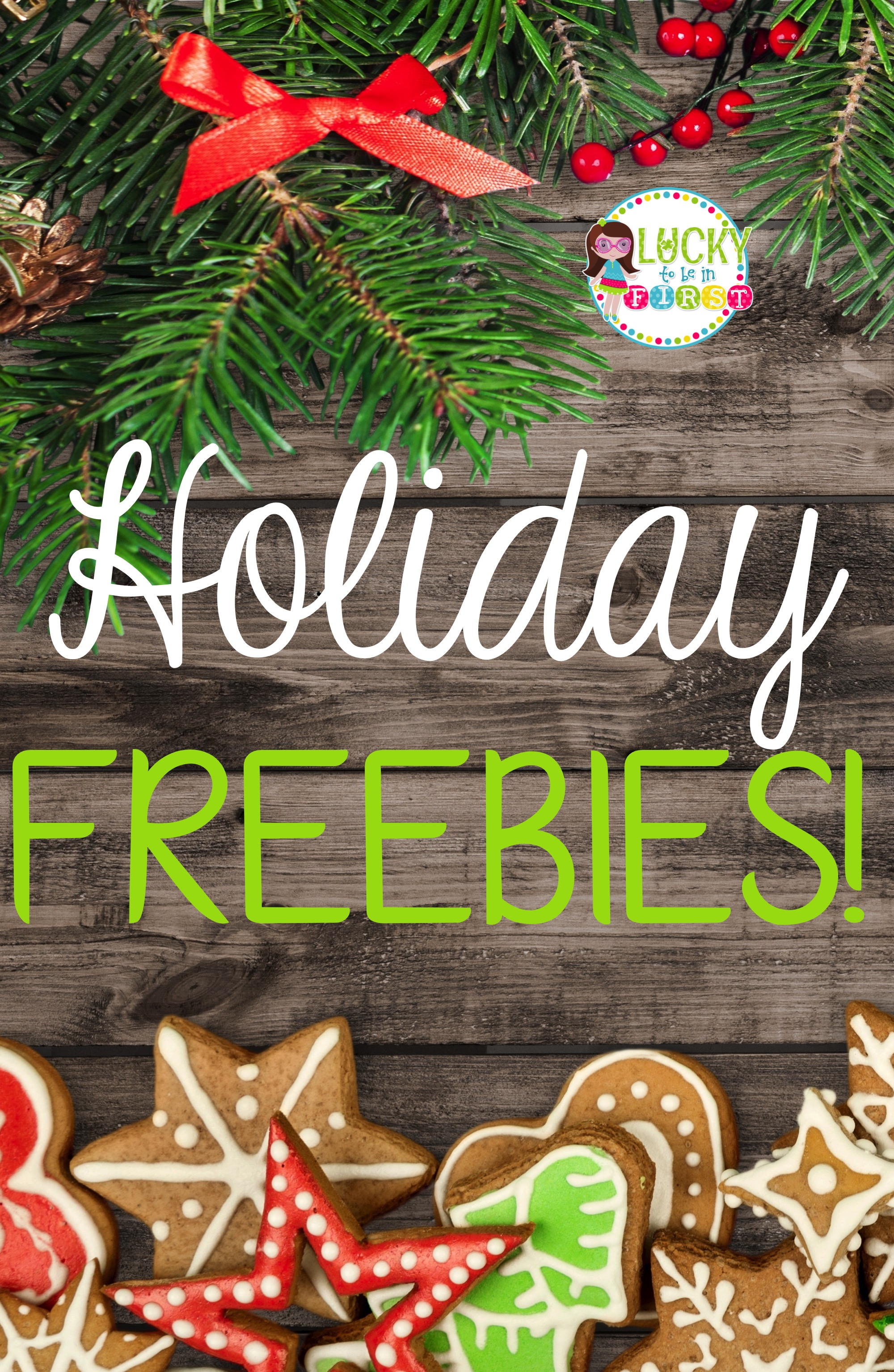 Fa-La-La-La-FREEBIES!  Help make your December a little easier! Snag a BUNCH of Holiday FREEBIES over on the blog!