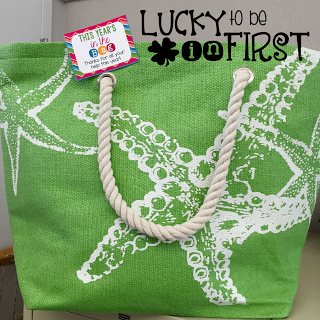 This Year's in the Bag Parent Gift FREEBIE | Lucky to Be in First Freebie