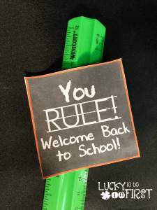 You RULE! Back to School FREEBIE!