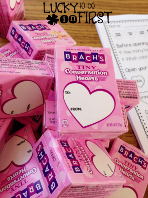 Conversation Hearts Lucky to Be in First