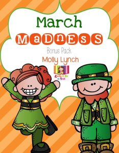 March Madness FREEBIE Lucky to Be in First