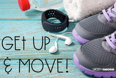Get Up & Move | 7 Ways to Stay Sane | Lucky to Be in First