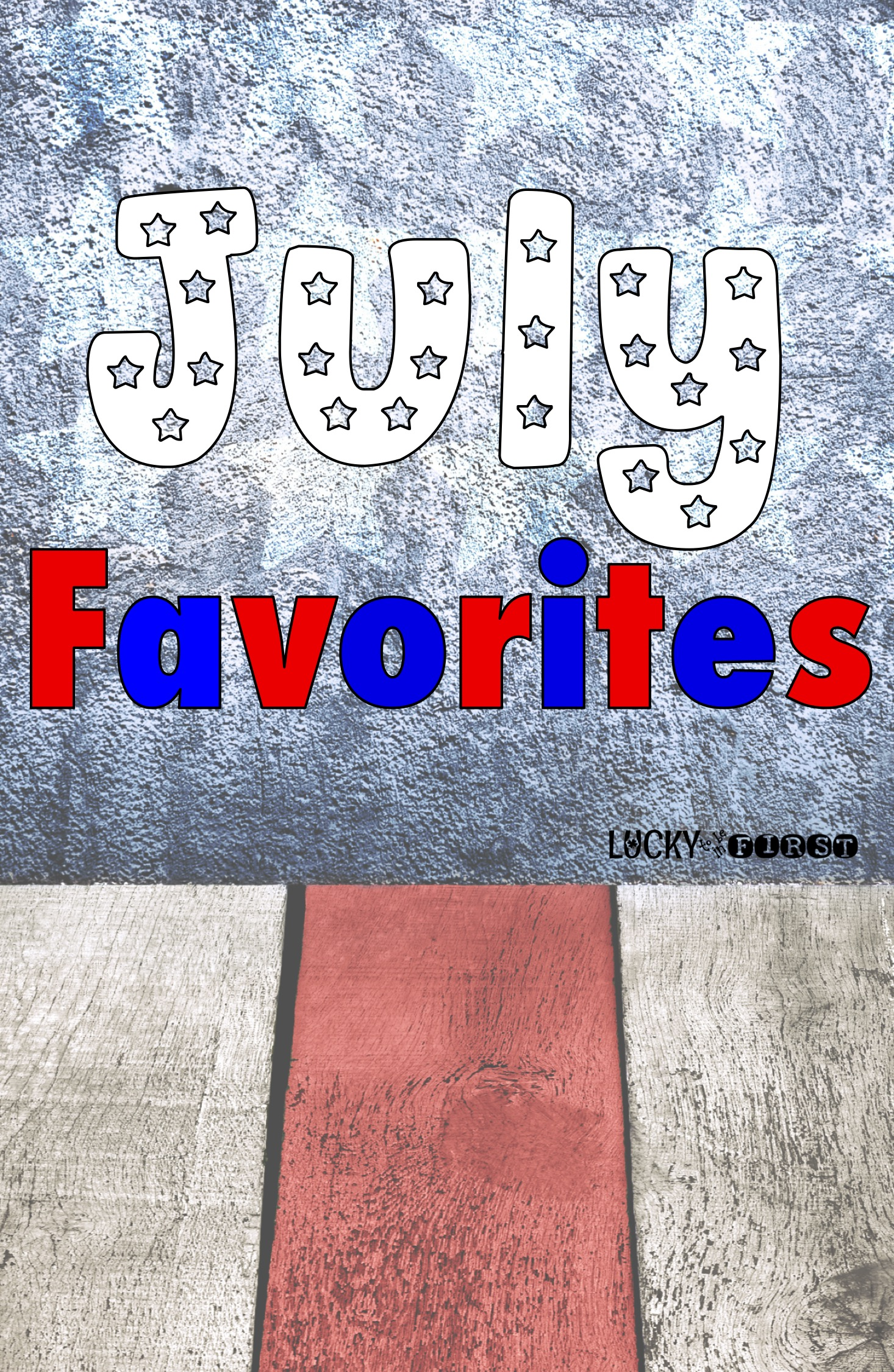 Swing on by the blog to find out my MUST haves for the month of July!
