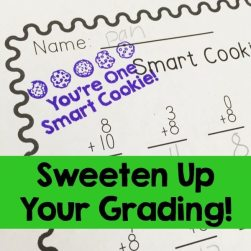 Smart Cookie Stamp Lucky to Be in First