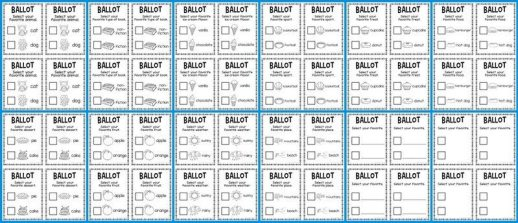 election-ballots-lucky-to-be-in-first-election-ideas