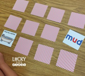 Short U Memory Game using Shutterfly Puzzles by Lucky to Be in First