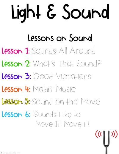 Teaching Light Sound Next Generation Science Standards Made Easy