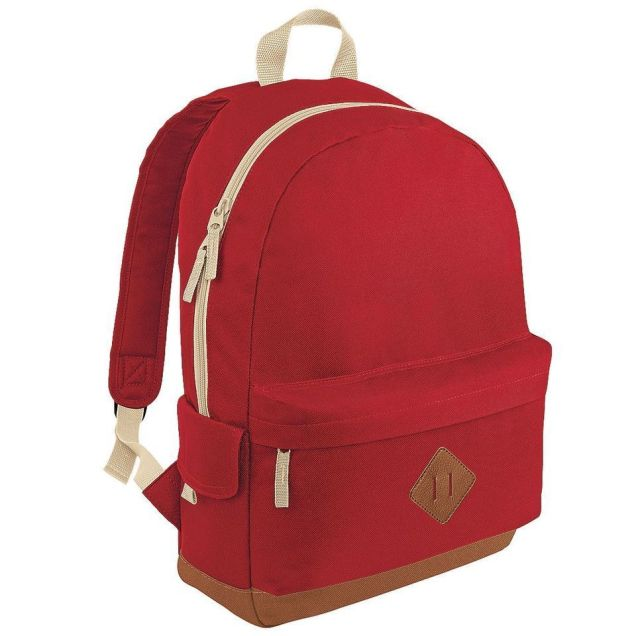 BagBase Red Backpack