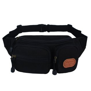 Ryaco Black Waist Pack