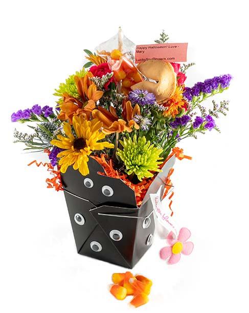 The Boo - Halloween Lucky You Flower Arrangement