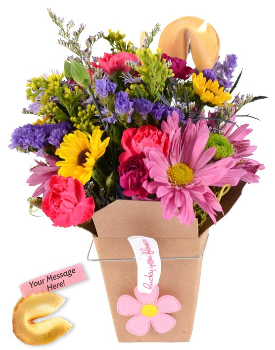 Daughters Day Lucky You Flower Arrangement