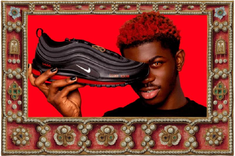 """lucloi.vn_Lil Nas X's """"Montero"""" / Satan Shoes"""