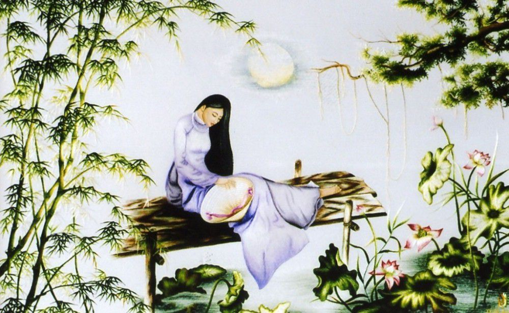 Image result for famous vietnamese paintings