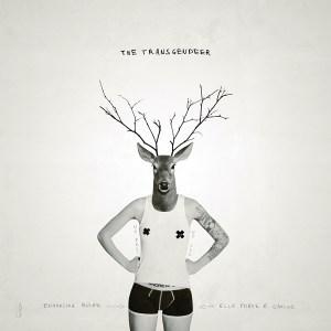 THE TRANSGENDEER #3 / Luc Pallegoix, 2014. Encre pigmentaire sur papier Moab blanc 300 gr. Disponible en grand format  50 x 50 cm 5 ex.  ou moyen format   23 x 23 cm 10 ex.  