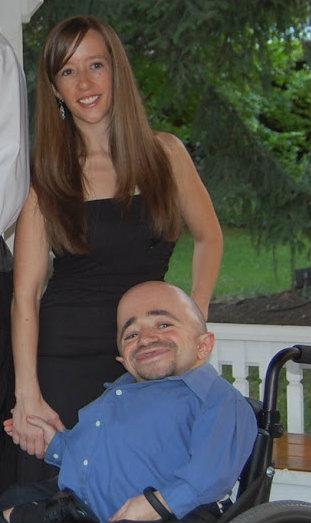 Mindie Kniss and Sean Stephenson