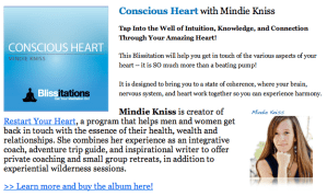 conscious heart blissitation