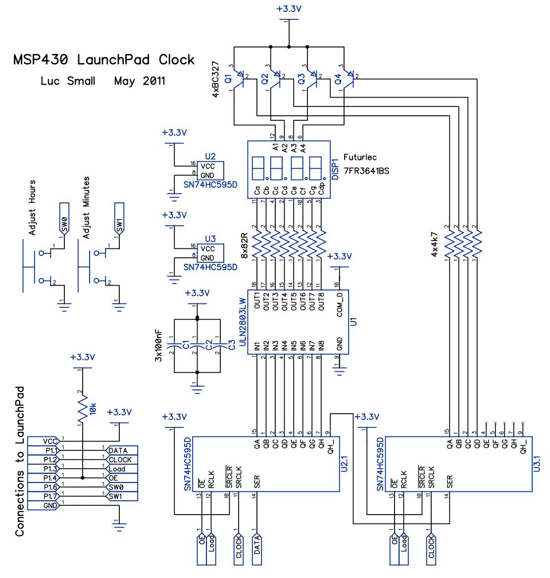 Msp430 Launchpad Clock