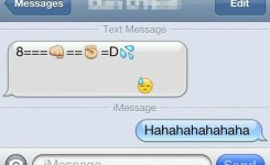 Dirty Iphone Emoticons