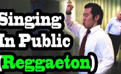 Singing In Public Reggaeton