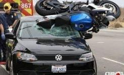 Funny Motorcycle Accidents Horrible Motorcycle Accident Compilation