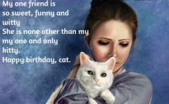 Happy Birthday Quotes For Cats