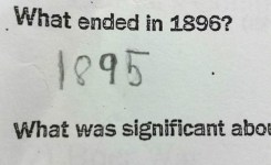Funny Test Answers Smart Kids