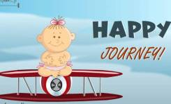 Happy Journey Ecard Greetings Card Wishes Messages   You