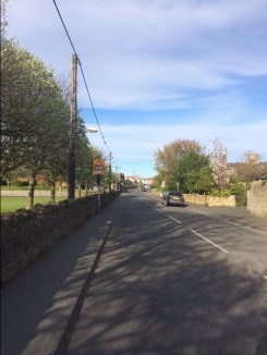 Running back through North Sunderland